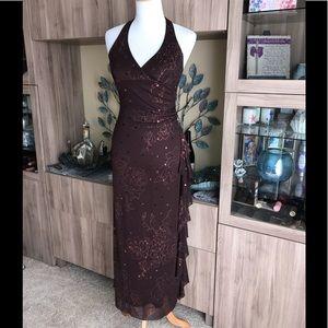 Taboo Sequin Maxi Dress 0997